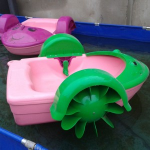 Frog And Mermaid Design Hand Paddle Boat Used In Water