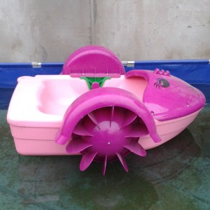 Mermaid Design Popular With Kids, Hand Paddle Boat For Sale
