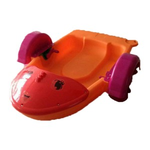 New Design Hand Powered Operated Paddle Wheel Boat, Plastic Kids Paddle Wheel Boat