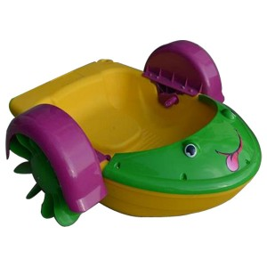 Engineering Plastics Hand Cranking Paddle Boat For Sale