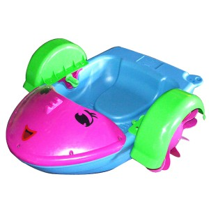 Kids Hand paddle Boat Placing Swimming Pool