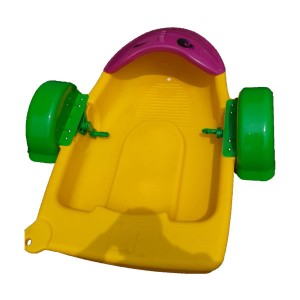 Parent-child Hand Pedal Boat Used In Water For Amusement Park