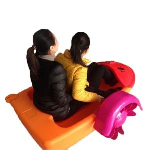 Safe Parent-child Hand Paddle Boat / Panddle Wheel Boat For Sale
