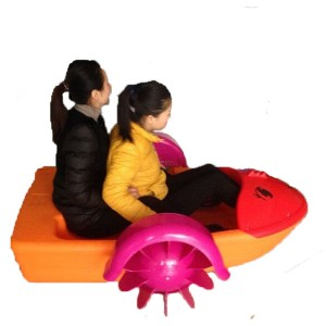 Water Hand Powered Operated Cranking Paddle Boat For Kids And Adults