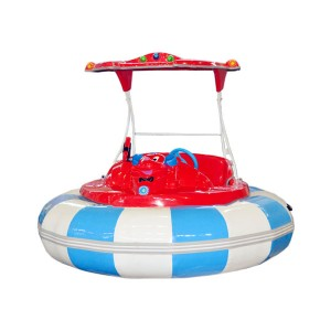China Market Battery Operated Bumper Boat For Adult